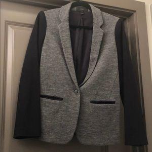 Two tone jcrew wool sweater